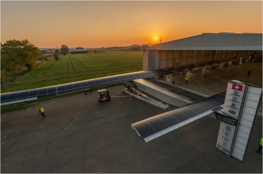 Looks like a good day for a solar powered flight!